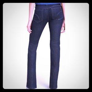 Joe's Jeans Cigarette Midrise Dark Tessa Wash  27
